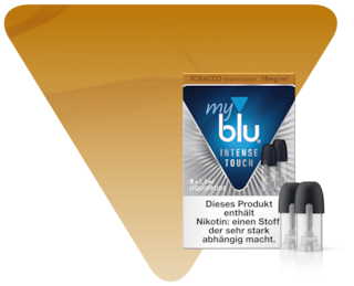 myblu INTENSE TOUCH Tobacco Roasted Blend Liquidpod
