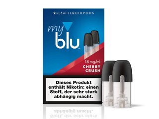 myblu Cherry Liquidpod - 2x 1,5 ml (Füllmenge) - 18mg/ml (Nikotin)