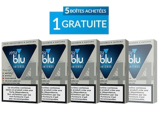 Pack Découverte INTENSE - 4x Capsules myblu