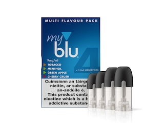 myblu™ Multi Flavour Pack  9mg x 4 pods