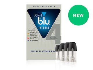 myblu INTENSE Multipack - 4 вкуса