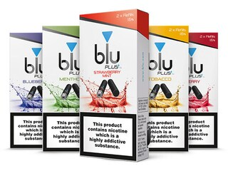 blu PLUS+ Strawberry Mint™ Cartridge Refill Small-2| blu®