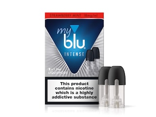 myblu™ Intense Liquidpod Strawberry Mint Flavour - 18mg/ml