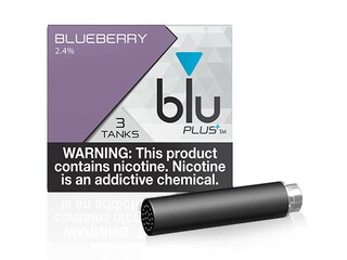 blu PLUS+ Blueberry™ E-Liquid Medium-1| blu®