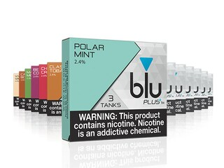 blu PLUS+ Glacier Mint™ E-Liquid Small-2| blu®