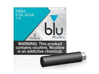 blu PLUS+ Pina Colada™  E-Liquid Medium-1| blu®