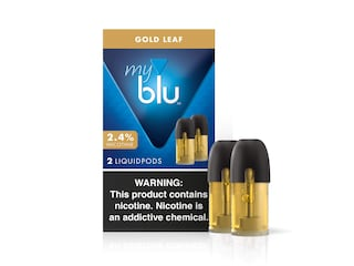 myblu™ Gold Leaf Liquidpod