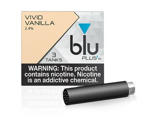 blu PLUS+ Vanilla™ E-Liquid Medium-1| blu®