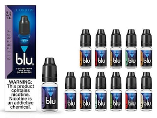blu® Blueberry E-Juice Small-2| blu®