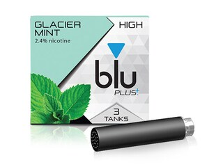blu PLUS+ Glacier Mint™ E-Liquid Large-1| blu®
