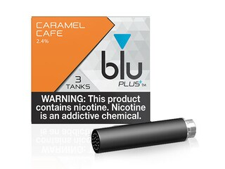 blu PLUS+ Caramel Cafe™ E-Liquid Large-1| blu®