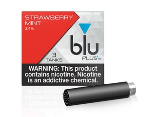 blu PLUS+ Strawberry Mint™ E-Liquid Small-1| blu®