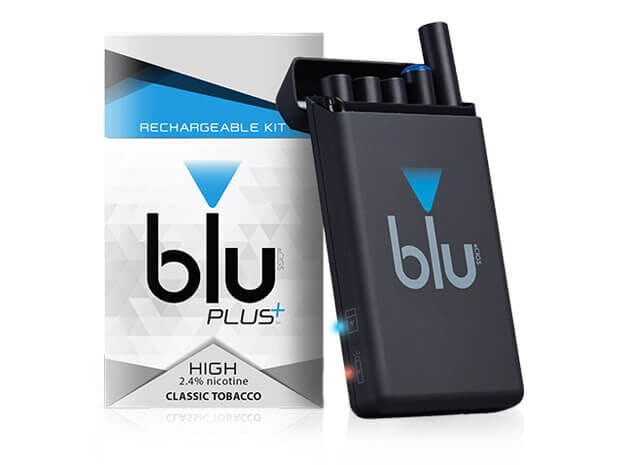 Blu Plus Rechargeable Kit Vaping New Electronic Desing 2011 Simple Led Display Warn Battery Low Small 1