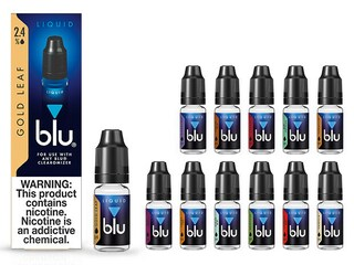 blu® Gold Leaf Tobacco E-Juice Small-2| blu®