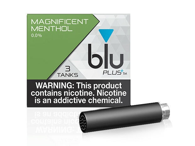blu PLUS+ Tank™ Magnificent Menthol - 0 0%