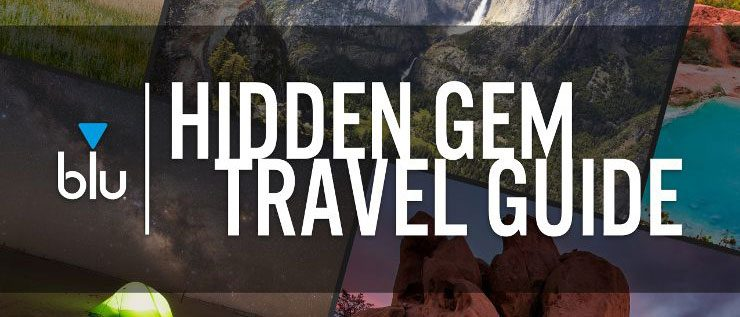 blu's Hidden Gem Travel Guide cover