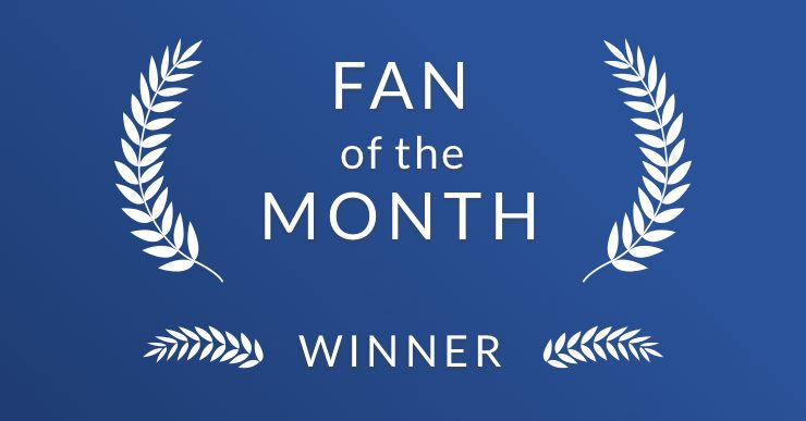 blu Fan Of the Month Winner | blu