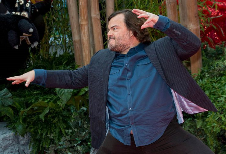 Celeb Jack Black Vaping