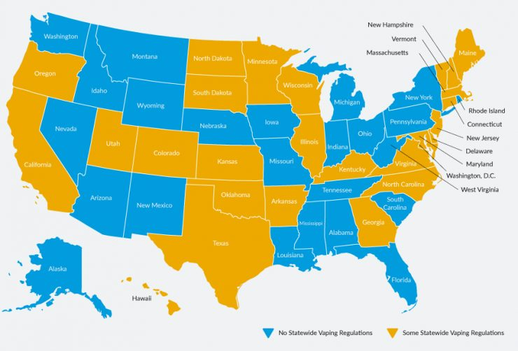 US Vaping Laws: A State-By-State Guide | blu