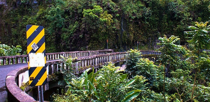 A bridge on the Hana Highway