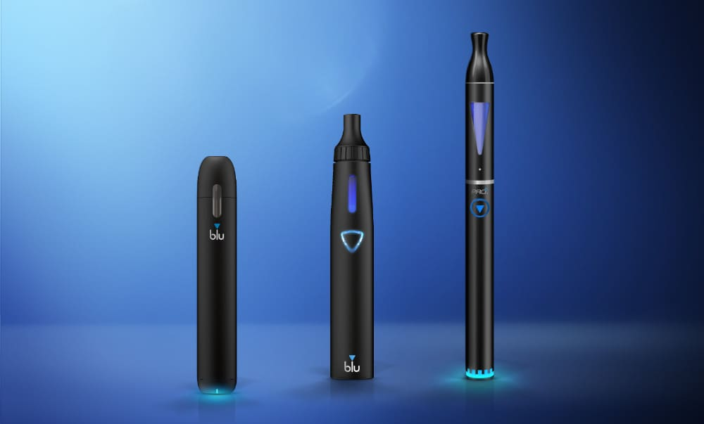 Model vaping my blu e-cig - Say hi to my blua | blu US