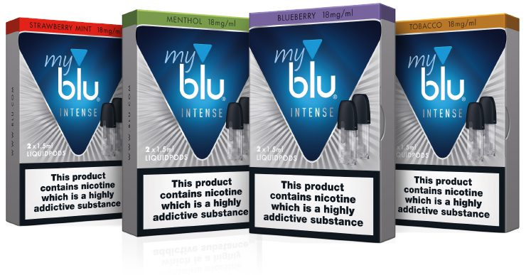 Nic Salts from Blu