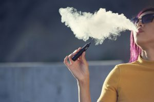 blu ACE - advanced vape device quit smoking in October