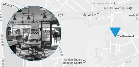 An image showing the location of Shake 'n' Vape Cafe on Google Maps