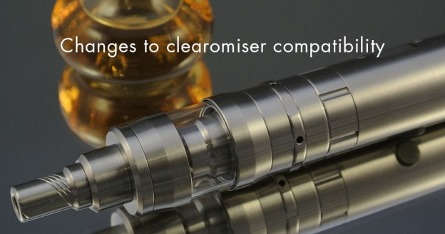 Changes to clearomiser compatibility