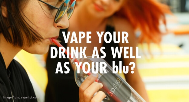 Vape Your Drink as well as Your blu? A Weird and Wonderful Invention Hits the News…