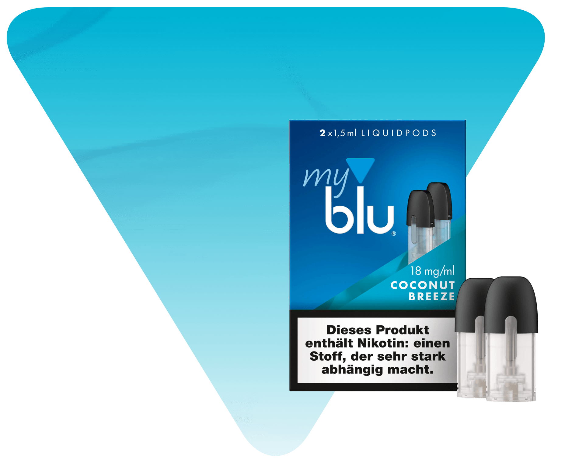 myblu Coconut Breeze Liquidpod