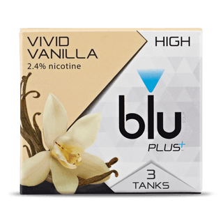 blu PLUS+ Vanilla™ Tank Cartridge Refill Medium-1| blu®