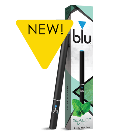 blu® Glacier Mint Disposable E-cigarette Medium-1 | blu®