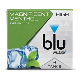 blu PLUS+ Menthol™ Tank Cartridge Refill Medium