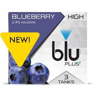 blu® Blueberry E-cigarette Tank™ Medium-1 | blu®