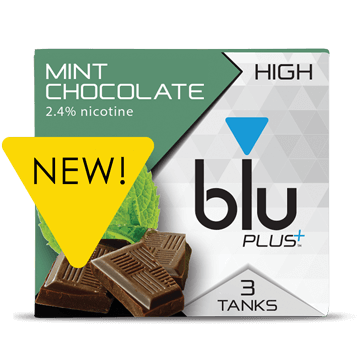 blu® Mint Chocolate E-cigarette Tank™ Medium | blu®