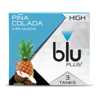 blu PLUS+ Pina Colada™ Tank Cartridge Refill Medium-1| blu®