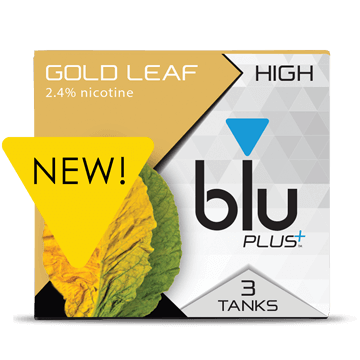 blu® Gold Leaf E-cigarette Tank™ Medium | blu®
