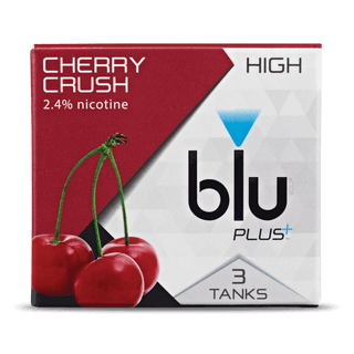 blu PLUS+ Cherry™ Tank Cartridge Refill Medium-1| blu®